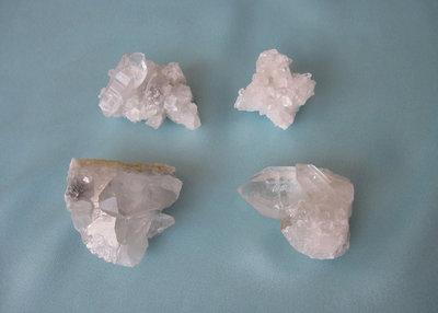 Bergkristal Clusters Setje 3