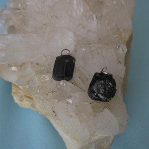 Toermalijn Kristal Hanger Zwart Small
