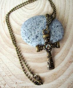 Jezus Kruisje Hanger