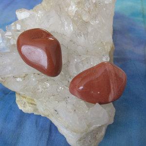 Rode Jaspis Trommelstenen