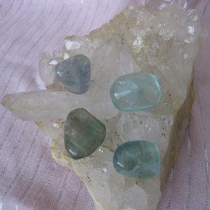 Fluoriet Trommelsteen Small