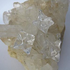 Bergkristal Merkaba Hanger