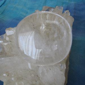 Bergkristal Handsteen 1